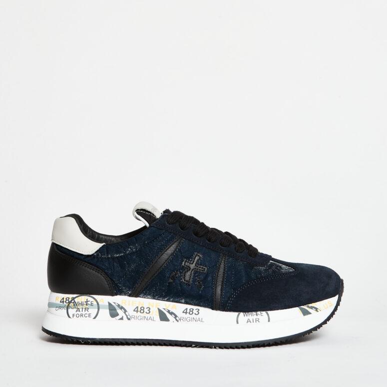 Premiata-sneakers-conny-blu