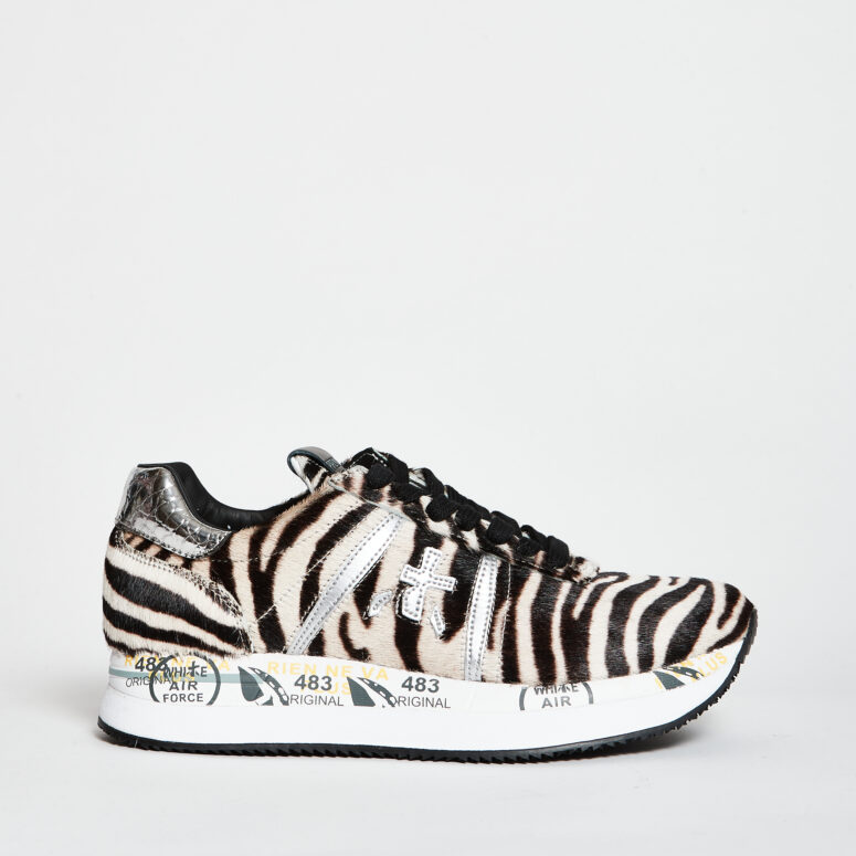 Premiata-Sneakers-bianco-nero