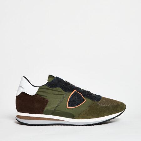 Philippe-model-sneakers-model-verde-militare